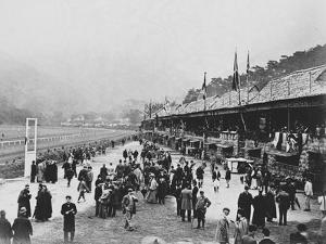 Crowds at Hong Kong Racecourse