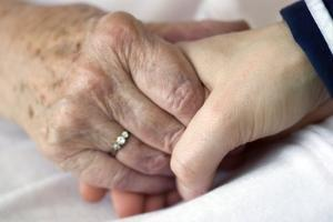 Caring for the Elderly, Conceptual Image by Crown