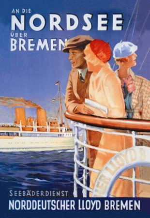 Cruise to the North Sea Via Bremen