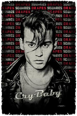 Cry Baby - Drapes & Squares Woven Throw