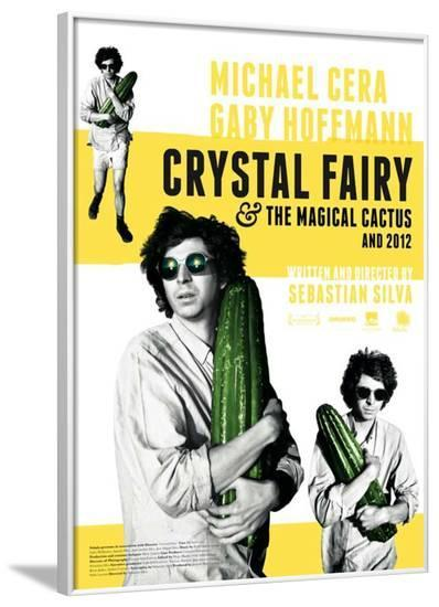 Crystal Fairy Movie Poster--Framed Poster