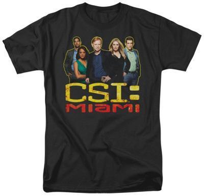 CSI Miami - The Cast In Black