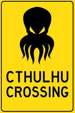 Cthulhu Crossing Creature