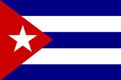 Cuba National Flag Poster Print