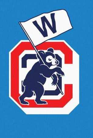 Cubbie Flying the W