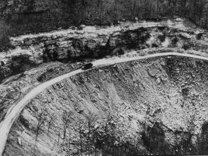 Cumberland Mountain Area Eroded and Spoiled by Strip Coal Mining
