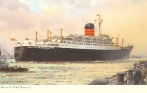 Cunard Ivernia, Ocean Liner