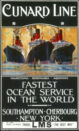 Cunard Line Poster