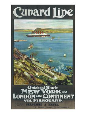 Cunard Line to New York