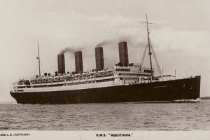 Cunard Liner RMS Aquitania
