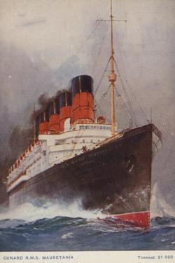 Cunard Liner RMS Mauretania