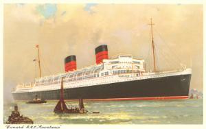 Cunard Mauretania, Ocean Liner