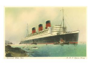 Cunard Ocean Liner RMS Queen Mary