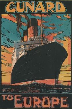Cunard to Europe