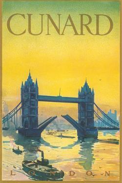 Cunard Travel Poster