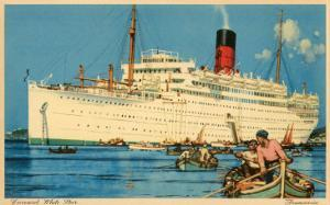 Cunard White Star Ocean Liner, Franconia