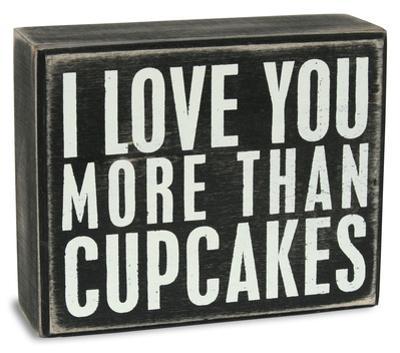 Cupcakes Box Sign