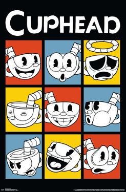 Cuphead - Faces