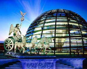 Cupola Quadriga Gate Berlin