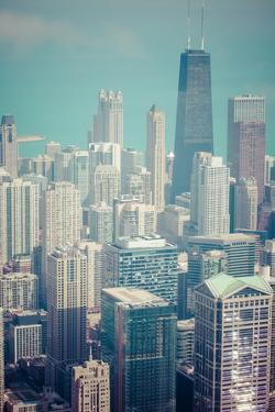 Chicago Skyline Aerial View by Curioso Travel Photography