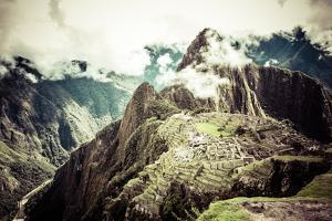 Machu Picchu, the Ancient Inca City in the Andes, Peru by Curioso Travel Photography