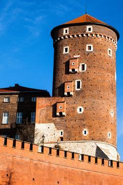 Medieval Gothic Sandomierska and Senatorska Towers at Wawel Castle in Cracow, Poland by Curioso Travel Photography