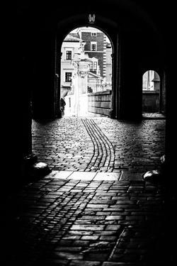 Typical Kracow Gate in Black and White by Curioso Travel Photography