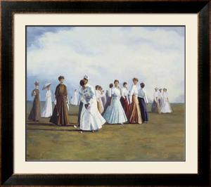 Ladies Golf by Curney Nuffer