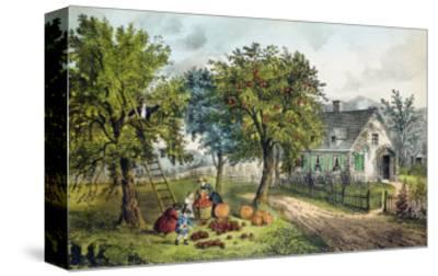 American Homestead; Autumn by Currier & Ives