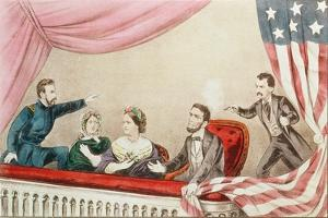 Assassination of Abraham Lincoln by Currier & Ives