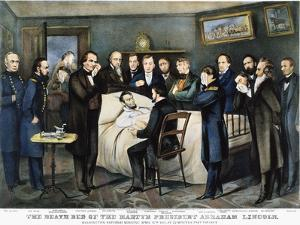 Death of Lincoln, 1865 by Currier & Ives