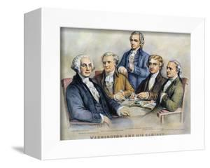 George Washington by Currier & Ives