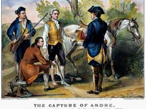 John Andre (1750-1780) by Currier & Ives
