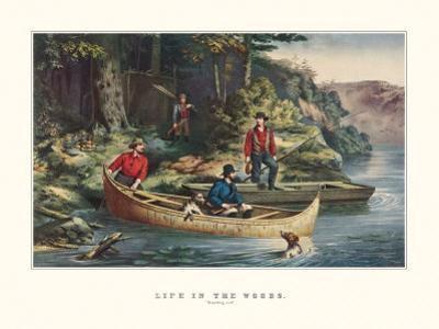 Life in the Woods by Currier & Ives