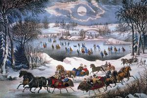 New York: Central Park by Currier & Ives