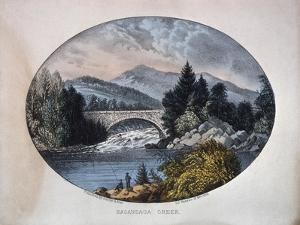 Sacandaga Creek by Currier & Ives