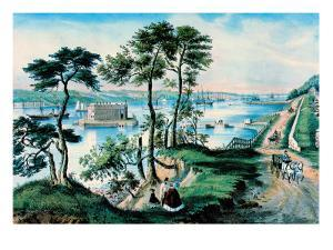 Staten Island by Currier & Ives