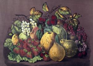 Summer Fruit by Currier & Ives