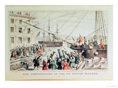 The Boston Tea Party, 1846