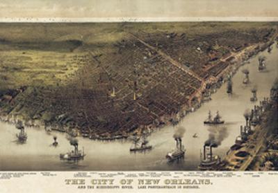 The City of New Orleans, Louisiana, 1885