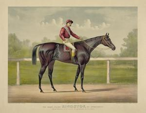The Grand Racer Kingston by Currier & Ives