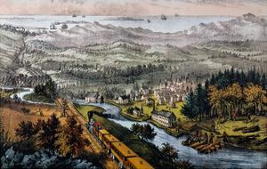 Through to the Pacific by Currier & Ives