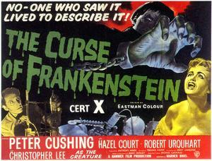 Curse Of Frankenstein, 1957