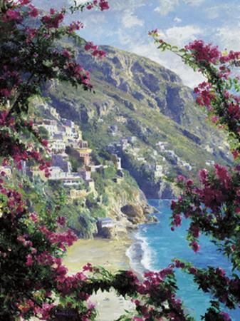 Positano, the Amalfi Coast by Curt Walters