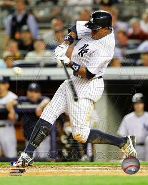 Curtis Granderson 2012 Action