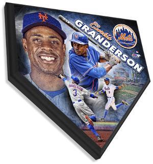 Curtis Granderson Home Plate Plaque