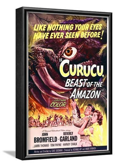 Curucu, Beast of the Amazon--Framed Art Print