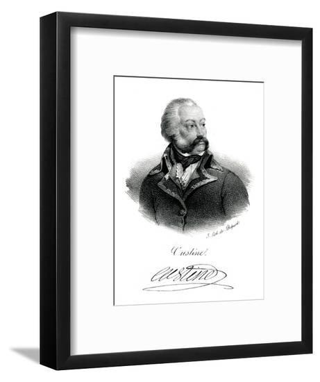 Custine, French Military--Framed Giclee Print