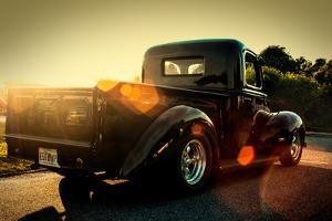 Custom Pickup at Sunset