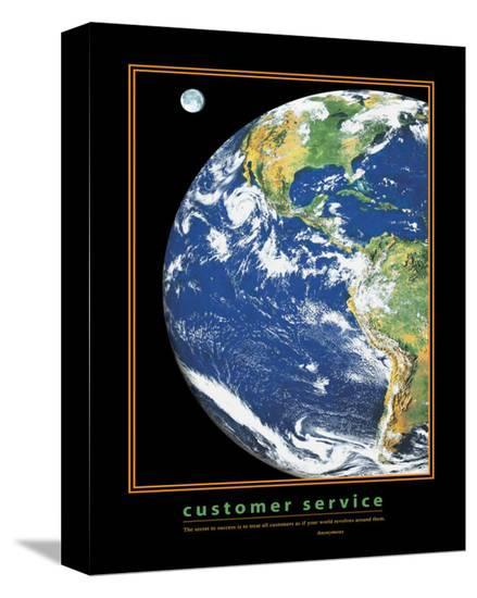 Customer Service--Stretched Canvas